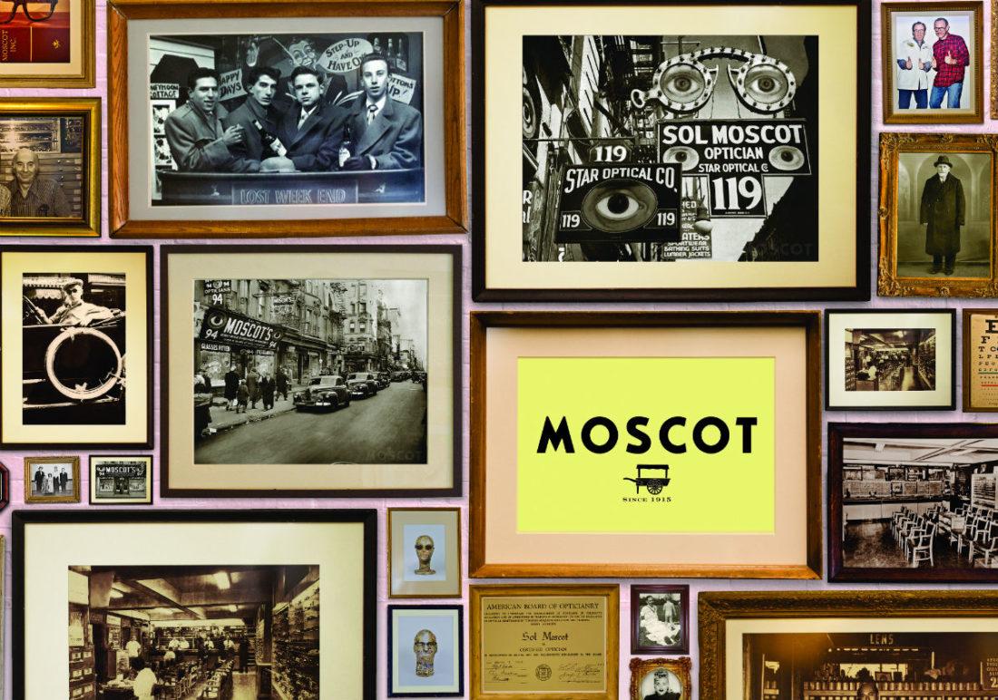 Intervista a Harvey Moscot: foto vintage del brand