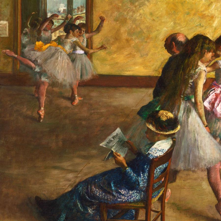 Palazzo Reale, Milano: in mostra Edgar Degas La classe di danza, ca. 1880 olio su tela, 82.2 x 76.8 cm Philadelphia Museum of Art, Acquistato con il W. P. Wilstach Fund, 1937