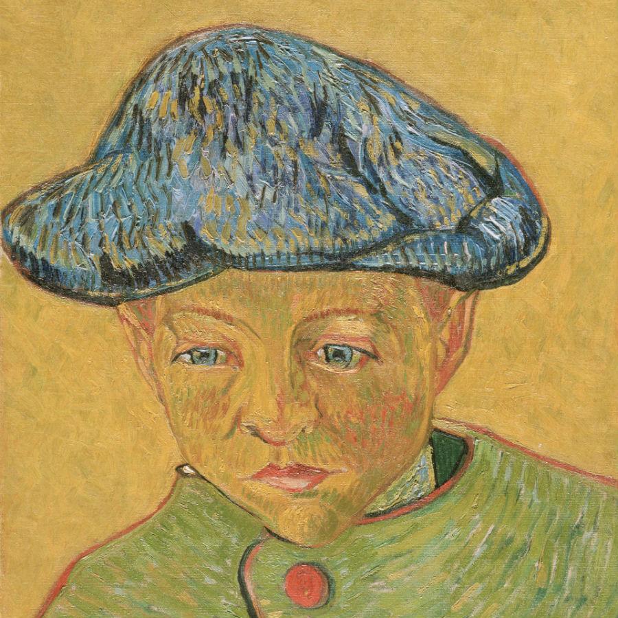 Palazzo Reale, Milano: in mostra Vincent van Gogh Ritratto di Camille Roulin, 1888 olio su tela, 43.2 x 34.9 cm
