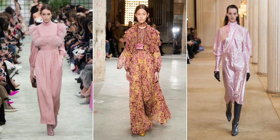 Paris Fashion Week. Esplosione di colore sugli abiti di Valentino, Giambattista Valli e Nina Ricci