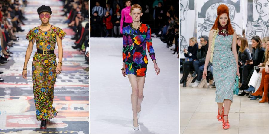 Paris Fashion Week - esplosione di colore sugli abiti di Dior, Balenciaga, Miu Miu
