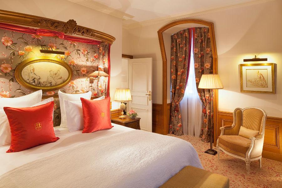 L'Auberge du Jeu de Paume Relais & Chateaux - suite royal