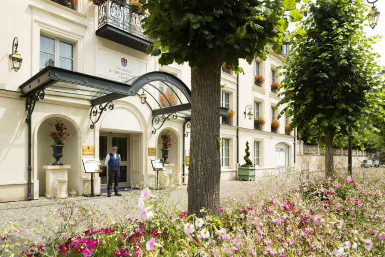L'Auberge du Jeu de Paume Relais & Chateaux - ingresso