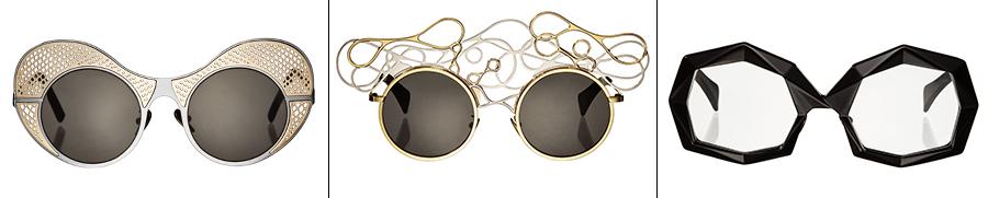Hani Rashid for Pugnale: i 3 modelli di occhiali Arilla, Fiano e Persan