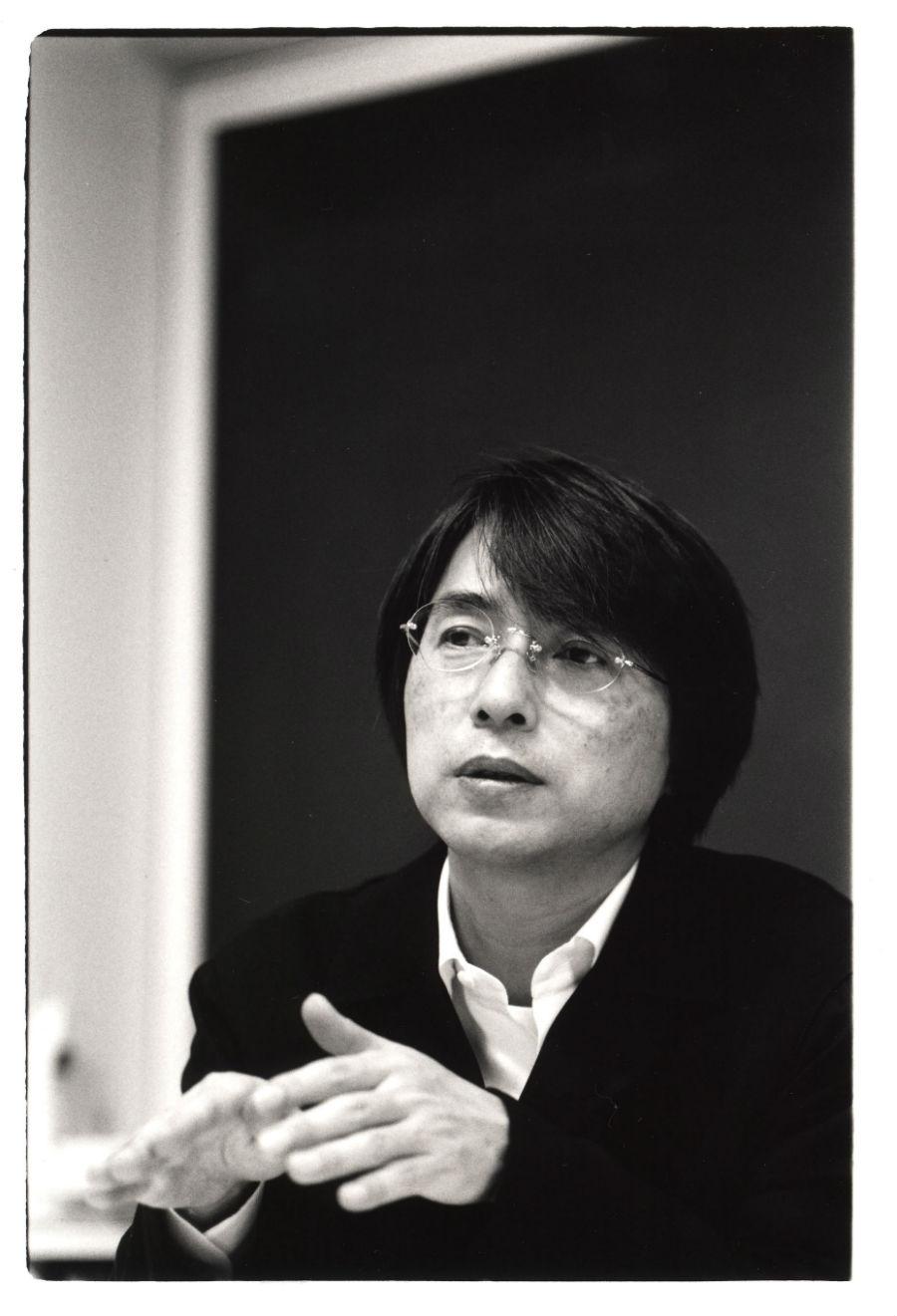 Primo piano di Masahiko Sato - credit ph Takuji Okada