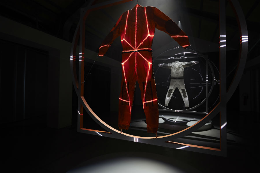 Carlo Rivetti - installazione presentazione di Stone Island Design Week Prototype Research Series O3
