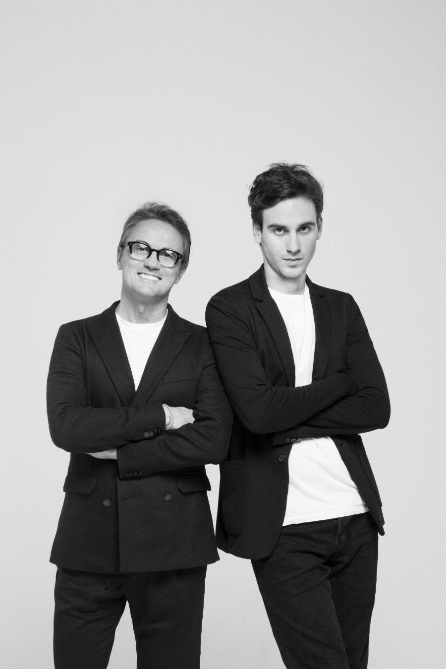 Paolo e Filippo Pecora del brand Paolo Pecora Milano