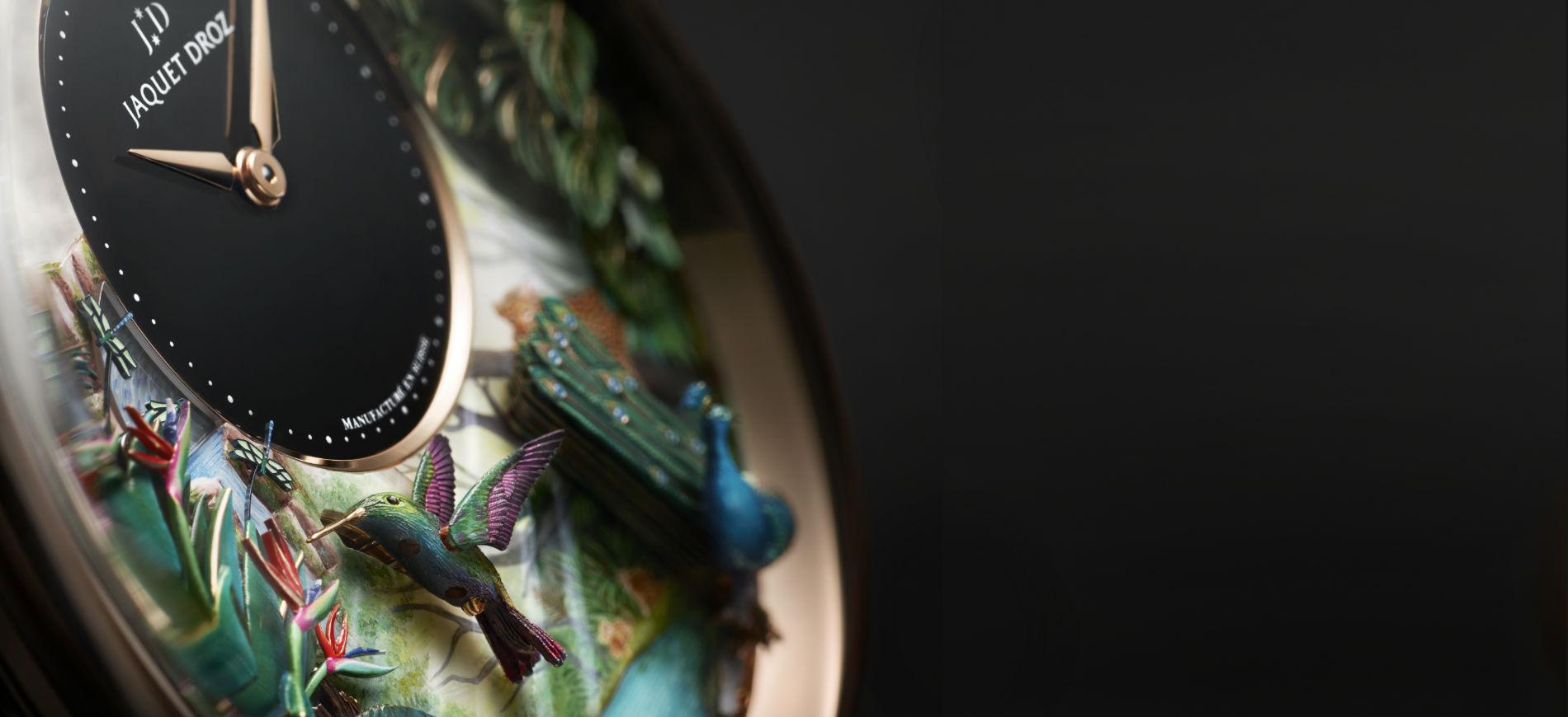 Jaquet Droz: Uno scatto del vernissage della mostra The Story of the Unique, in programma dal 4 al 15 aprile presso il Flagship Store di Pisa Orologeria in via Verri 7 a Milano.