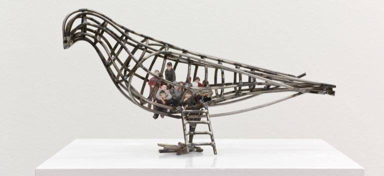miart 2018 - la fiera dell'arte moderna e contemporanea a Milano: installazione di Riegger Kotaktova