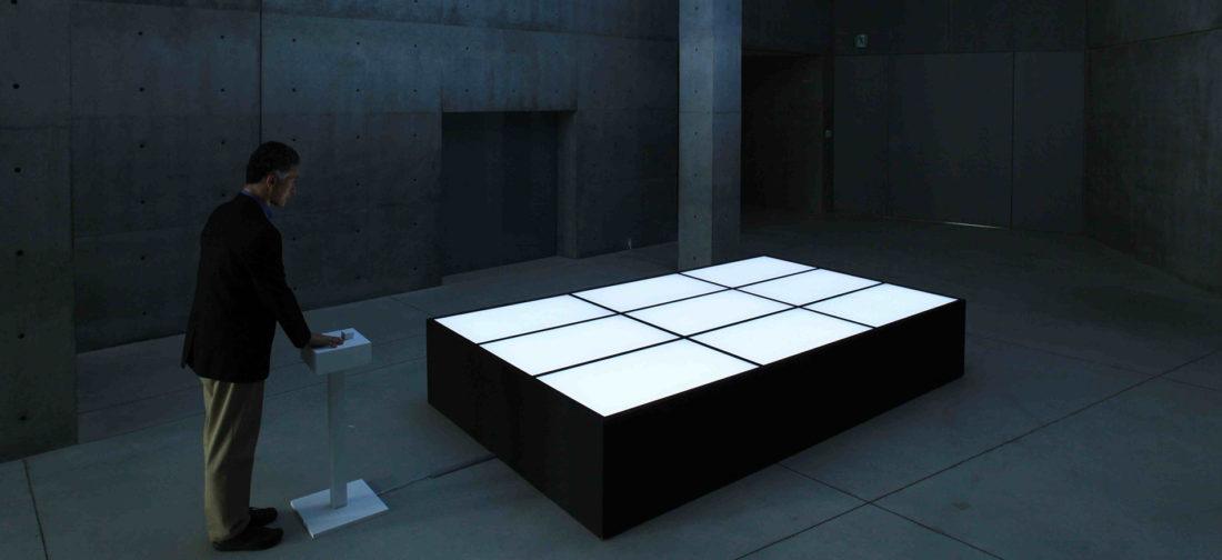 Installazione dal titolo The Definition of Self Directed By Masahiko Sato