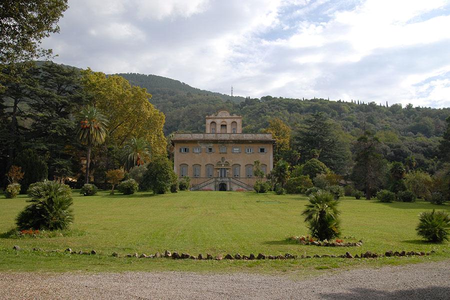 La Villa di Corliano - Toscana: veduta frontale della villa