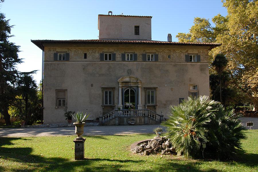 La Villa di Corliano - Toscana: veduta posteriore della villa