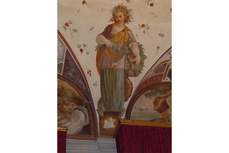 La Villa di Corliano - Toscana: Rappresentazioni zodiacali e mesi del calendario