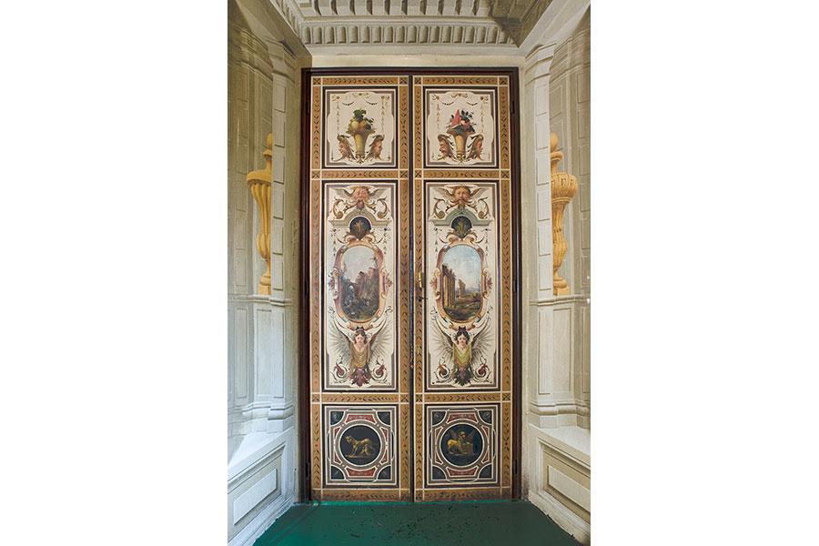 La Villa di Corliano - Toscana: Particolari interni della villa