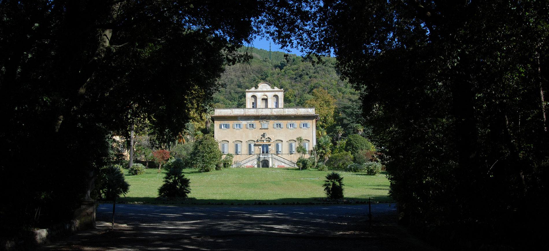 La Villa di Corliano - Toscana: veduta frontale dal parco
