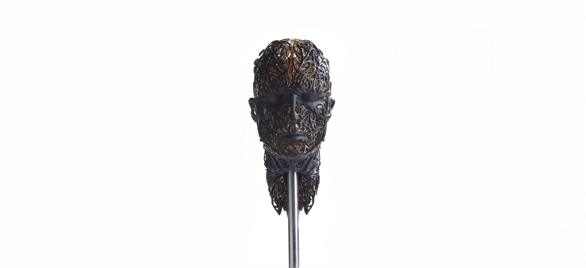 L'opera d'arte dedicata all'art performer e autore del pluripremiato ciclo di film The Cremaster Matthew Barney,realizzata da Damiani in collaborazione con l'artista Barry X Ball