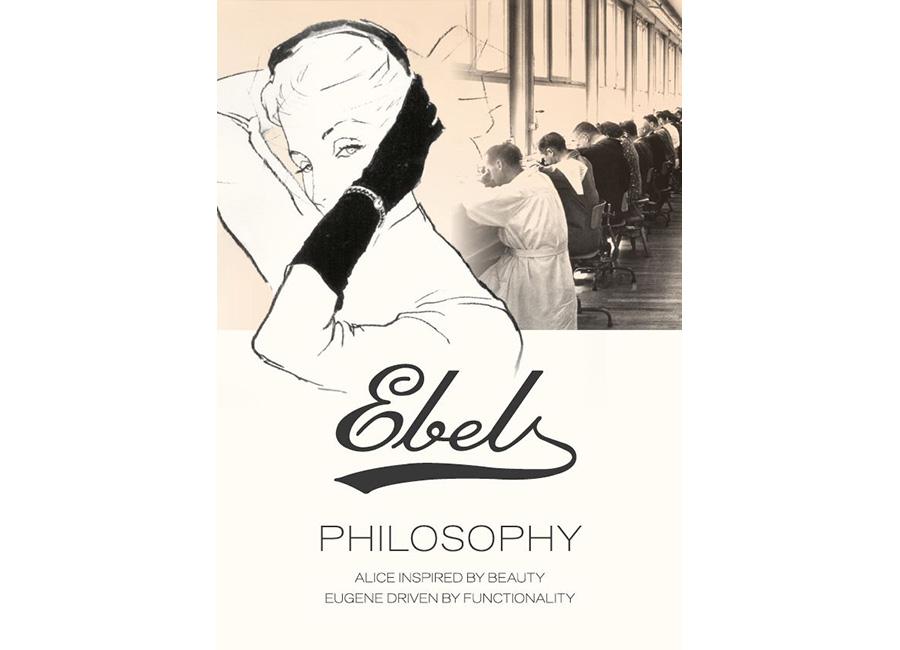 Ebel: locandina del brand
