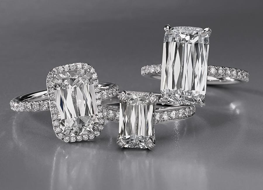 """GemGenève, fiera dedicata alle gemme e all'alta gioielleria. Nell'immagine Anello di fidanzamento """"Ashoka"""" di William Goldberg"""