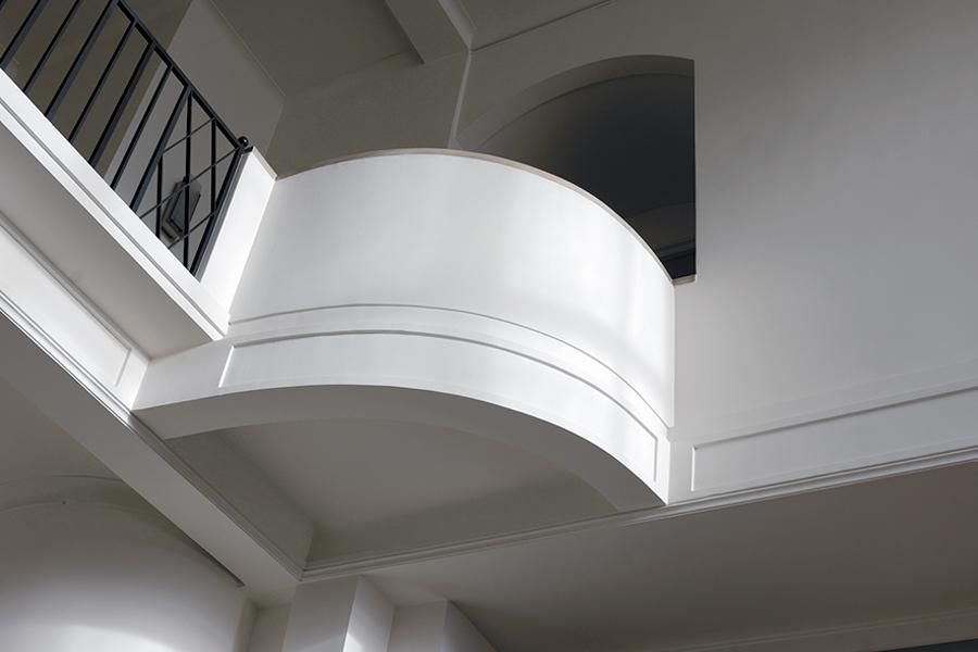Le Corbusier - Villa Schwob - La Chaux-de-Fonds: visione degli interni