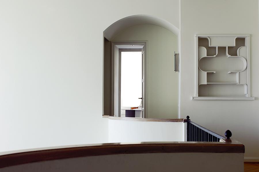 Le Corbusier - Villa Schwob: interno di una sala