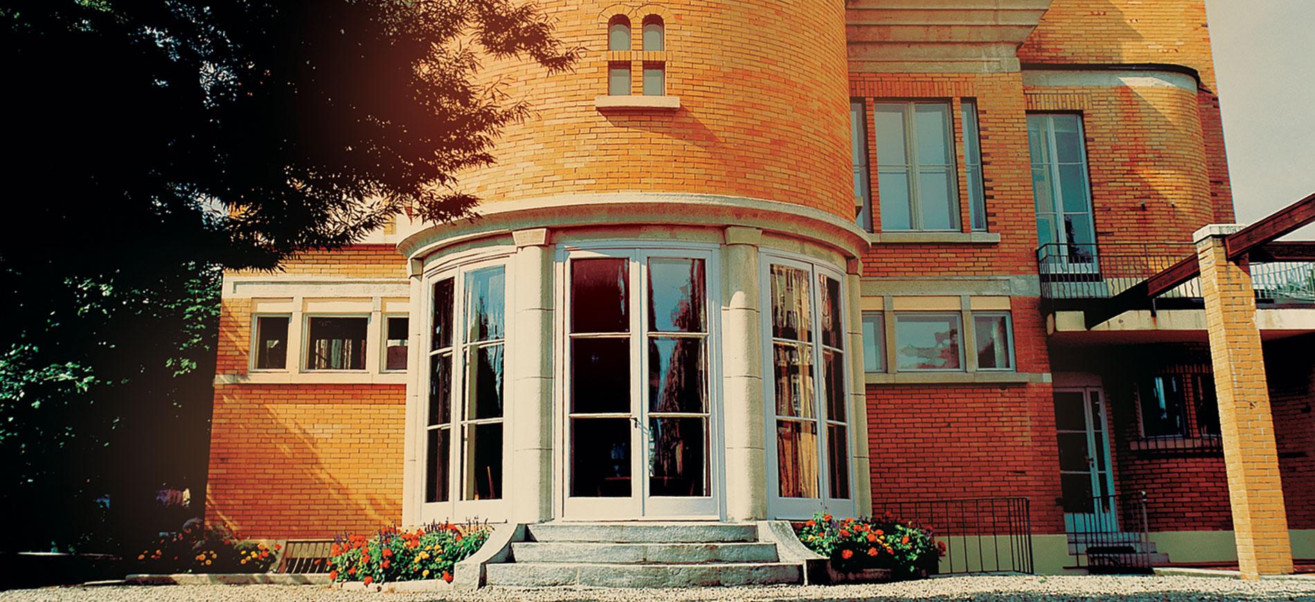 Le Corbusier - Villa Schwob - entrata principale