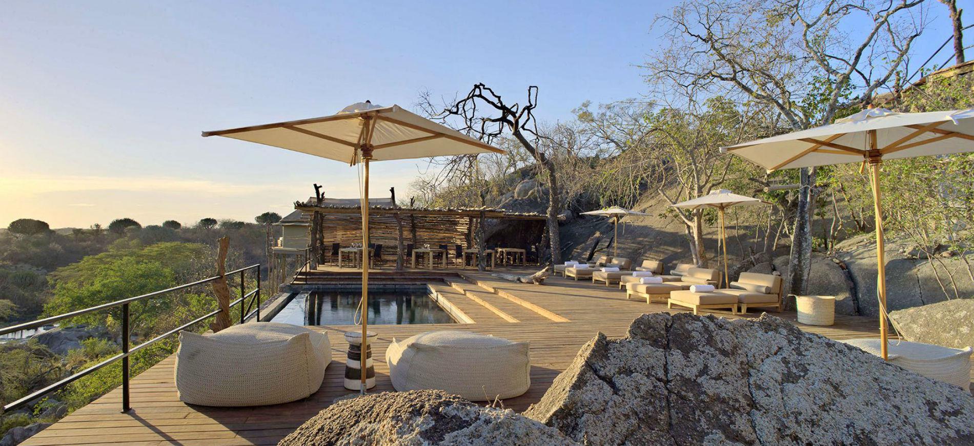 Tanzania - Mwiba Lodge Hotel: piscina esterna