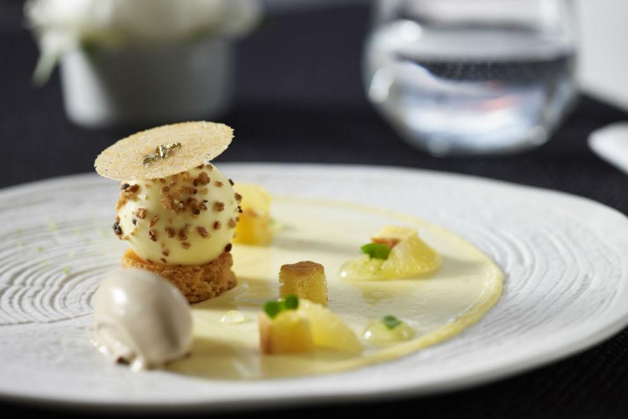Bill & Coo Hotel - Mykonos: Piatti della creativa cucina di A. Kostakos