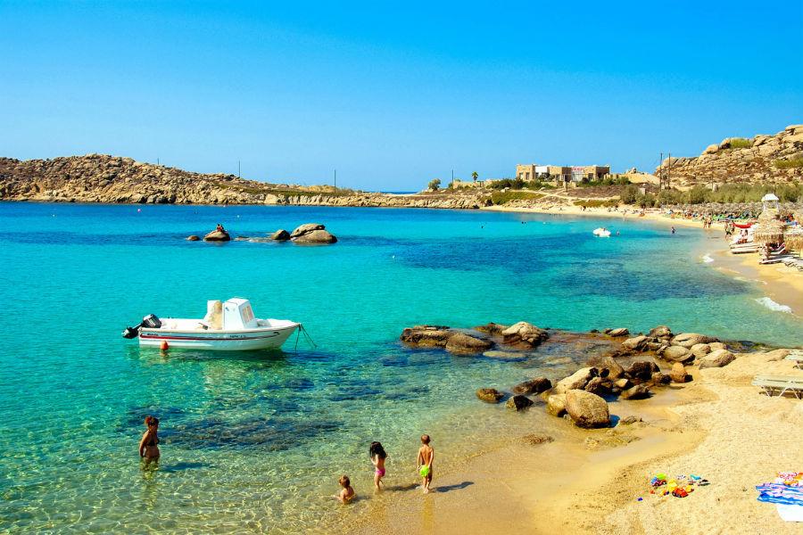Bill & Coo Hotel - Mykonos: spiaggia