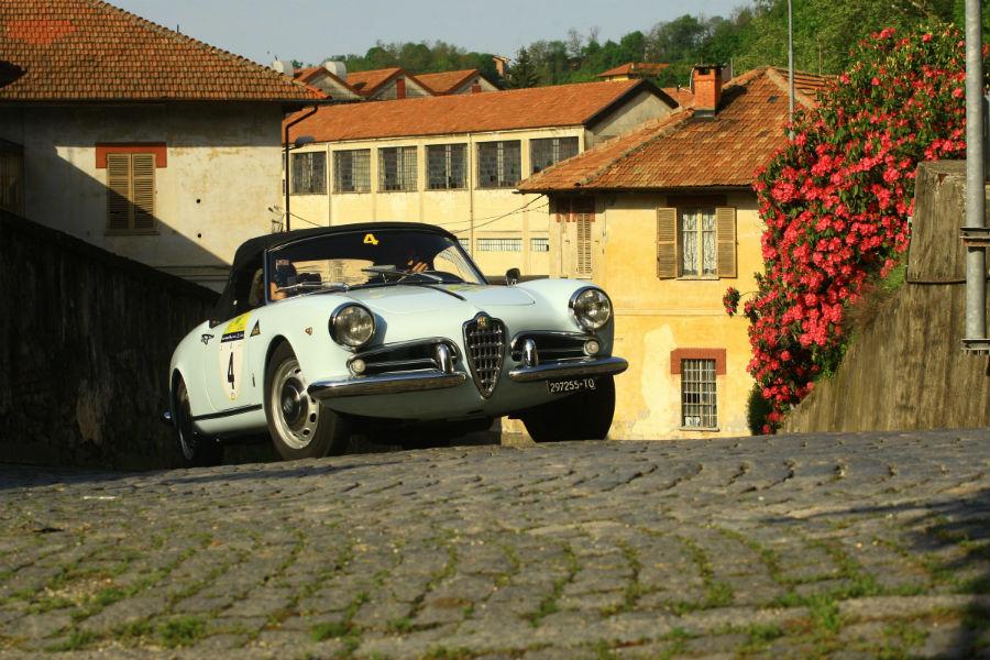 Trofeo Tollegno 1900: Alfa Romeo Giulietta Spider 1957