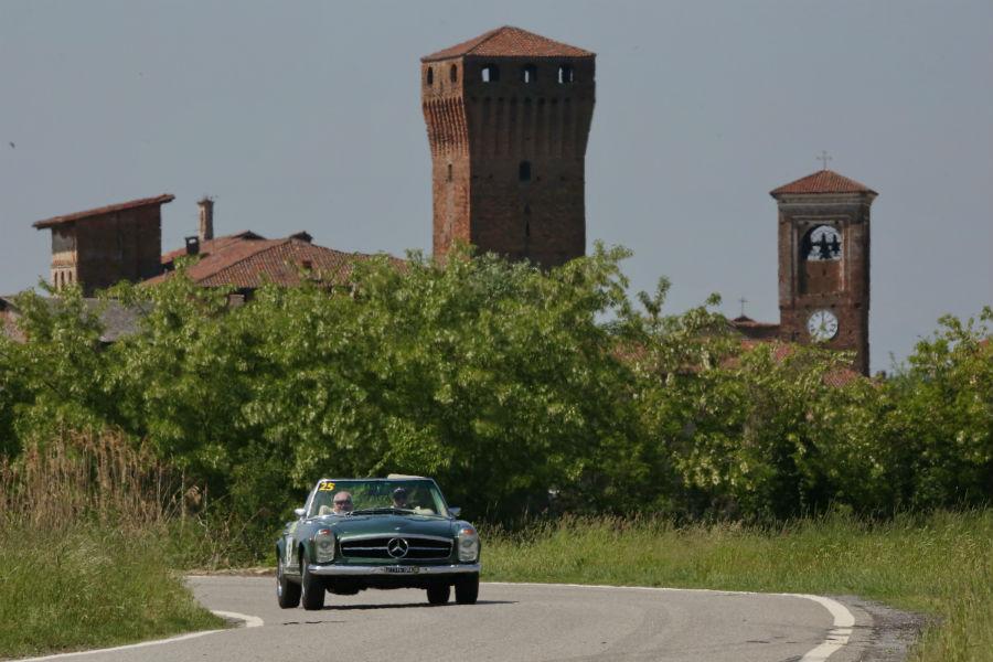 Trofeo Tollegno 1900: Mercedes 280Sl 1970