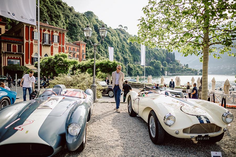 Auto d'epoca in mostra al Concorso d'Eleganza Villa d'Este