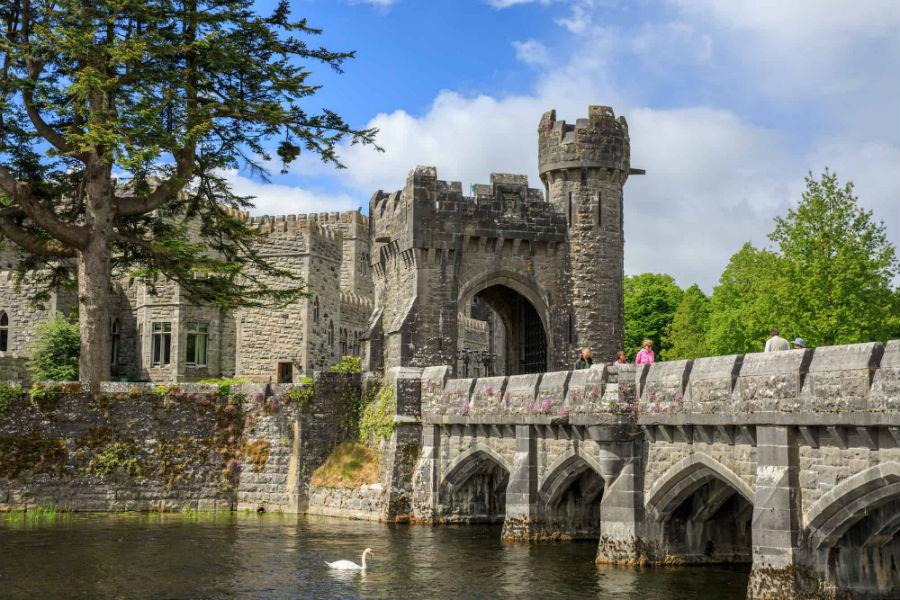 Ashford Castle Hotel in Irlanda: ingresso