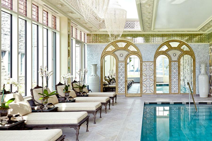 Ashford Castle Hotel in Irlanda: piscina