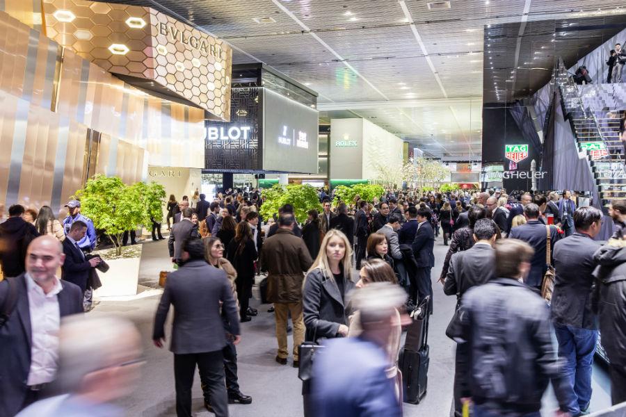 Baselworld 2019 e Sihh 2019 - anticipazioni: Il piano principale di Baselworld. È qui che risiedono alcuni tra i marchi più importanti dell'industria del tempo.