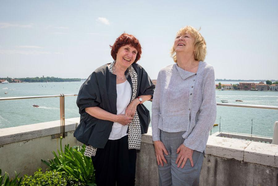 Biennale Architettura 2018: immagine di Yvonne Farrell and Shelley – Photo by Andrea Avezzu – Courtesy La Biennale di Venezia