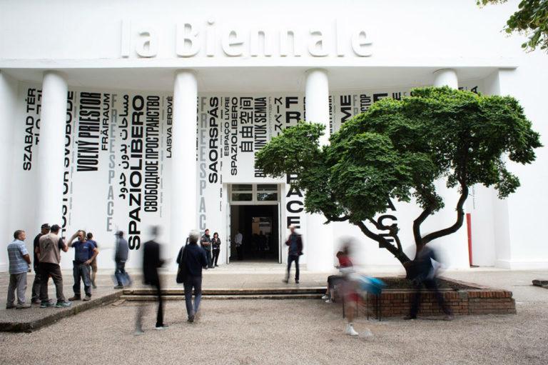 Ingresso della Biennale Architettura 2018
