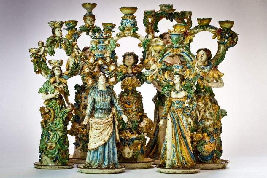 Nicolò morales i colori della sicilia nelle ceramiche di caltagirone