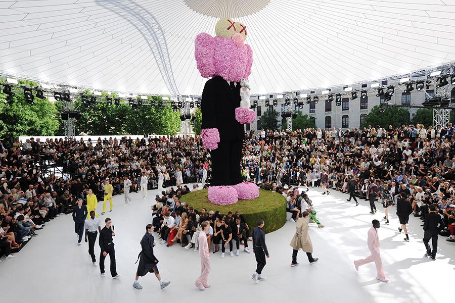 Dior Homme collezione primavera/estate 2019 Show by Adrien Dirand