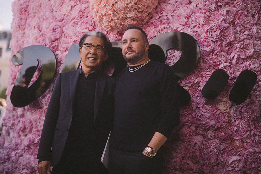 Dior Homme: Kenzo Takada and Kim Jones by Virgile Guinard