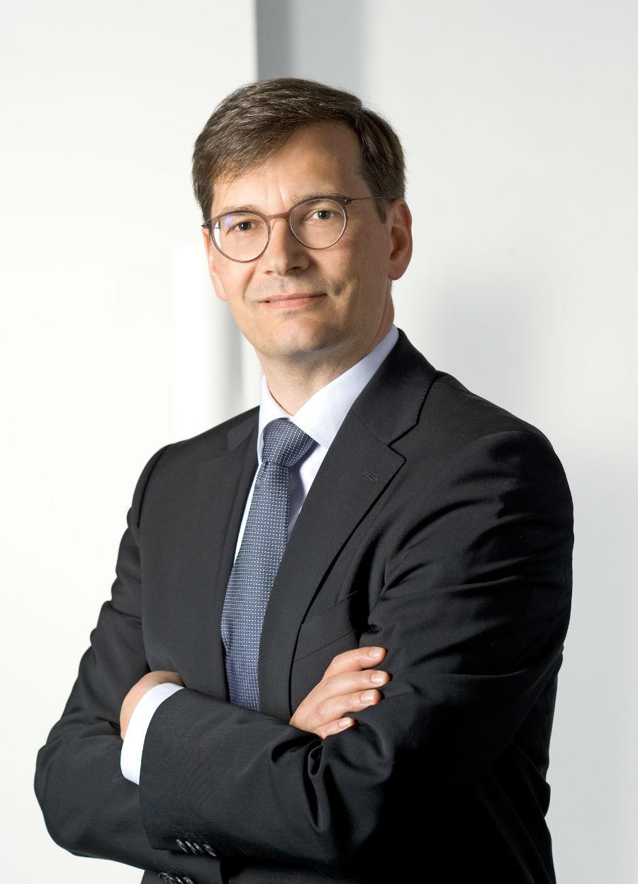 Ritratto a mezzo busto di Daniel Rogger – da giugno 2017 dirige l' Executive Board di Faber-Castell