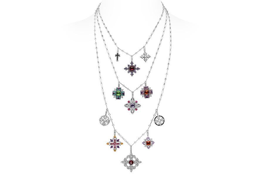Giampiero Bodino – Alta gioielleria - Rosa Dei Venti – Croci
