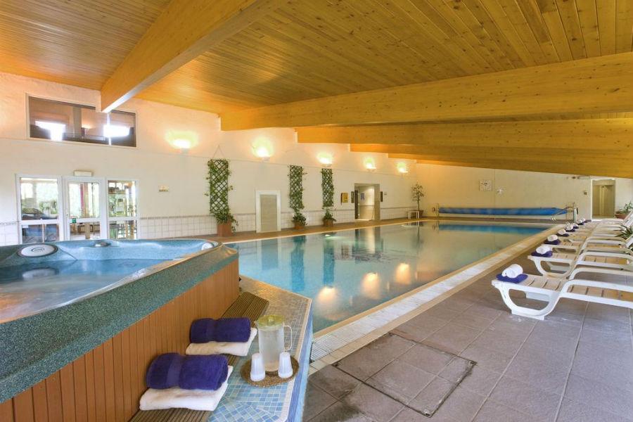 Isle of Eriska Hotel, Spa & Island - Scozia: piscina interna