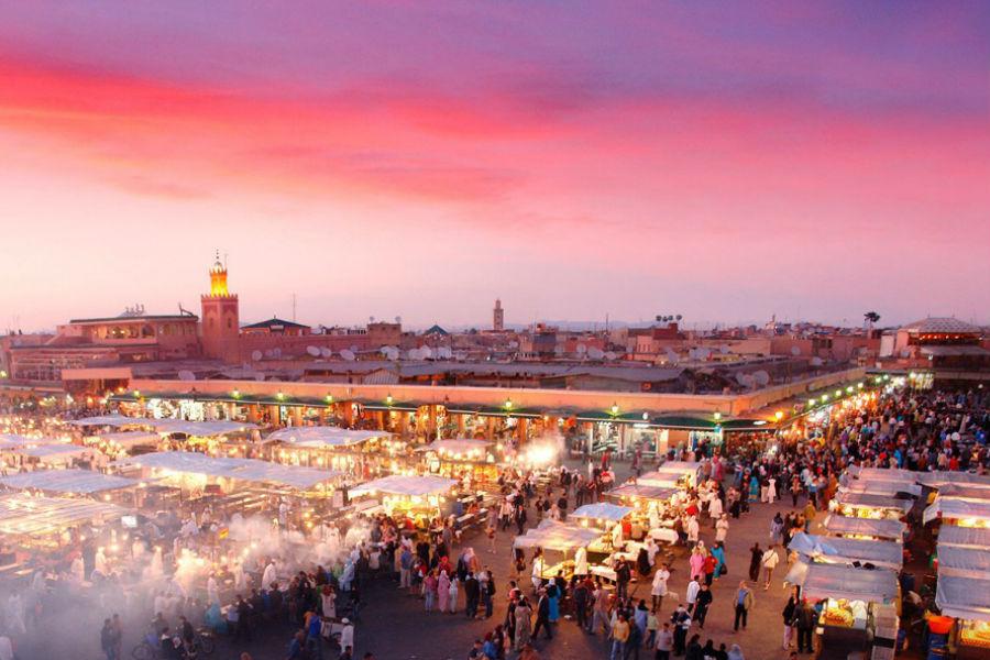 Four Seasons Private Jet - Marrakesh