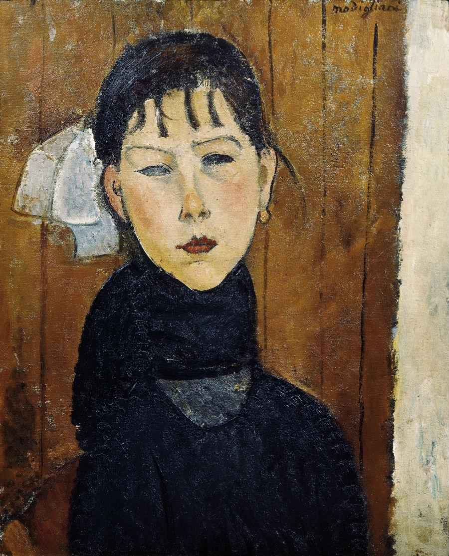 Autore: Amedeo Modigliani Titolo: MarieAnno: 1918Dimensioni: 62 x 50,5 cm Tecnica: olio su tela Sede: Offentliche Kunstsammlung, Kunstsammlung, Basle