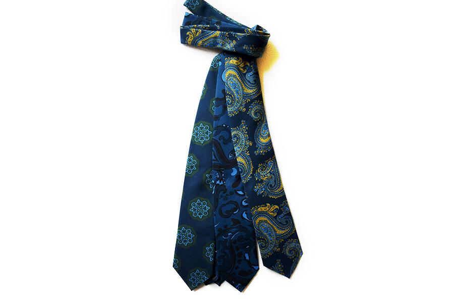 Pitti Immagine Uomo 94: cravatte Stefano Cau