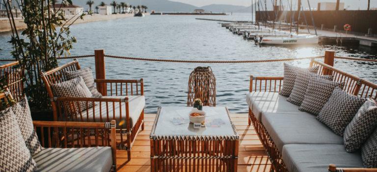 Porto Montenegro - area relax sul porto