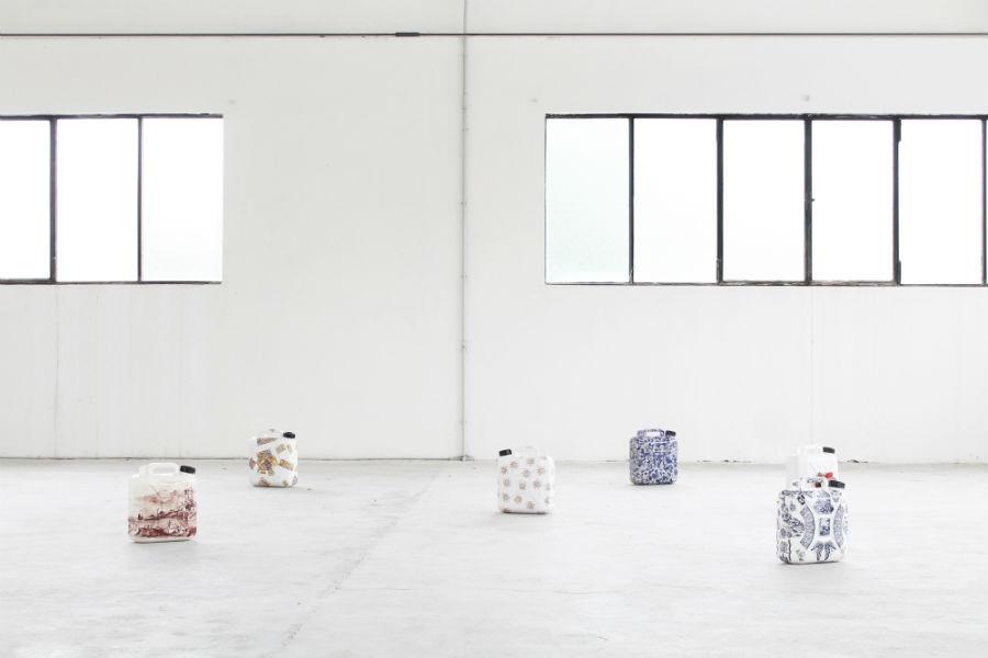 Opere dell'artista Paolo Polloniato in ceramica di Nove