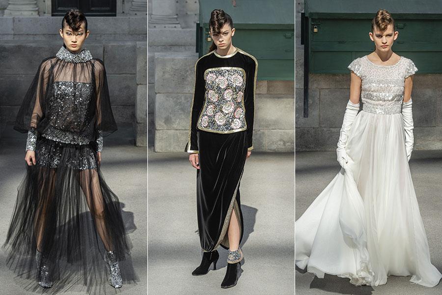 Chanel Haute Couture: 3 modelli della nuova collezione autunno-inverno 2018-2019