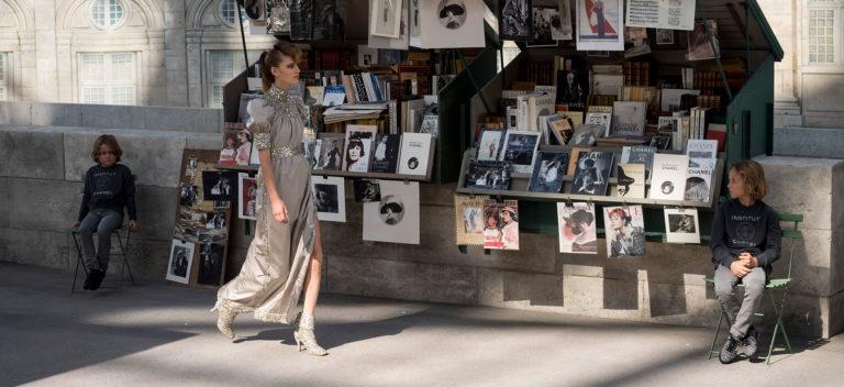 Chanel Haute Couture: modello di abito collezione autunno-inverno 2018-2019