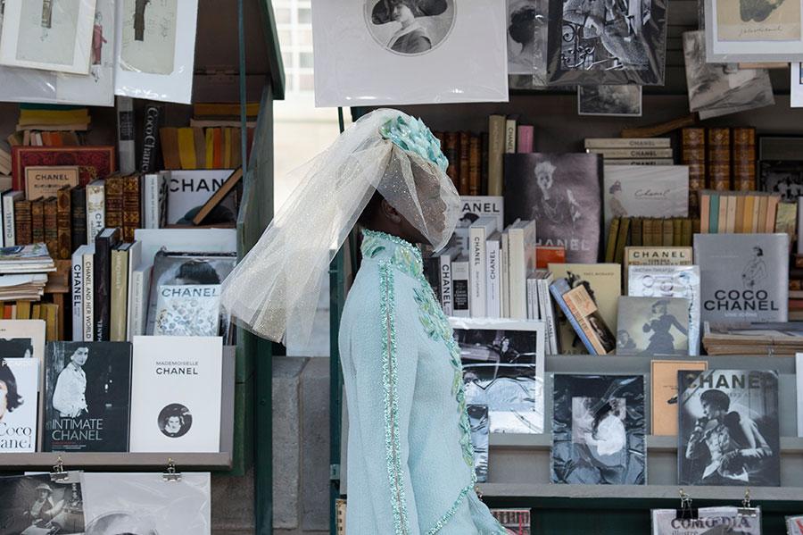 Chanel Haute Couture: modello di abito da sposa